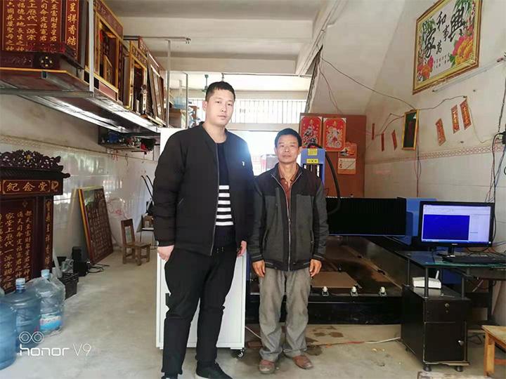 广西南宁1325重型石材雕刻机(图1)